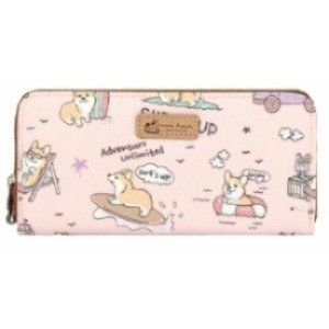 Waterproof Corgi Long Wallet Fits Phone